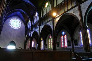 聖ザビエル天主堂のステンドグラス