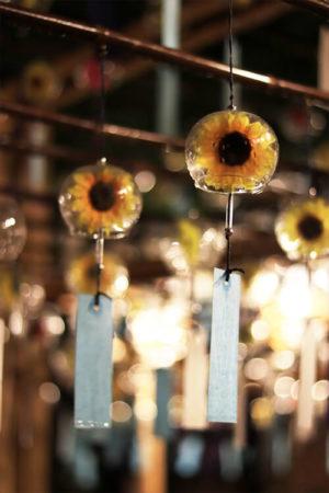 向日葵の風鈴