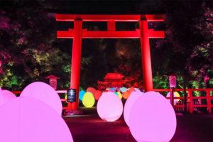 下鴨神社「糺の森の光の祭り」
