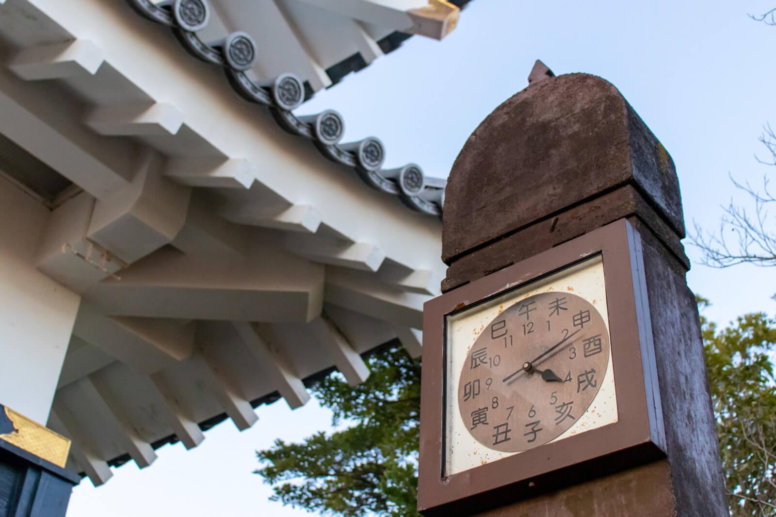 十二支による時計(干支時計)