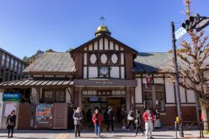原宿駅の正面