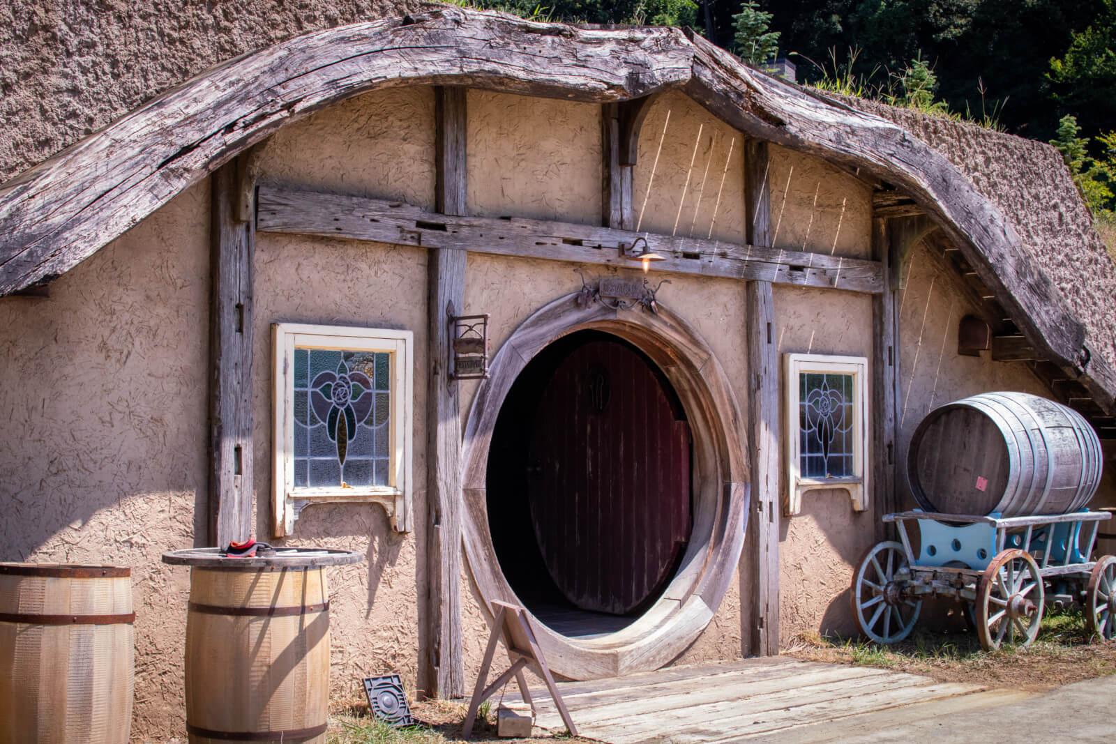 ホビットの家?
