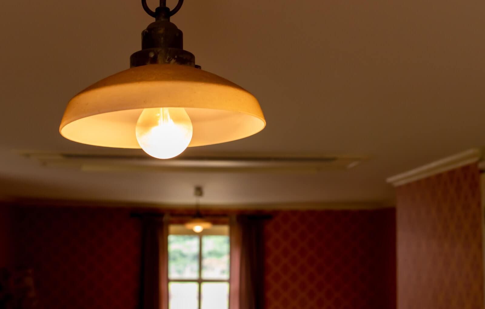 レトロな電灯